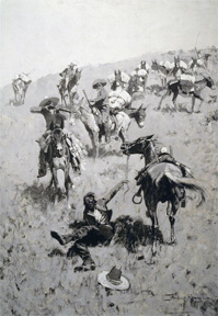 Frederic Remington Giclee Canvas 1 of 2